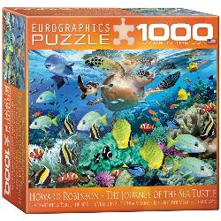 Sea Turtle Journey Fish Jigsaw Puzzle