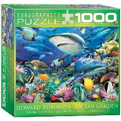 Swimming with Sharks Fish Jigsaw Puzzle