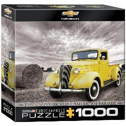 1937 Chevy Pickup Truck Nostalgic / Retro Jigsaw Puzzle