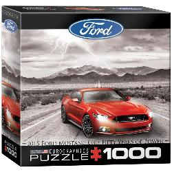 Ford Mustang 2015 Photography Jigsaw Puzzle