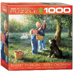 Apple Orchard by Robert Duncan People Jigsaw Puzzle