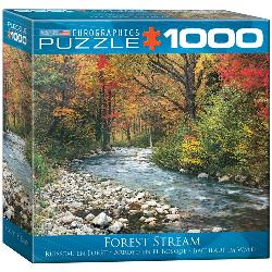 Forest Stream Lakes / Rivers / Streams Jigsaw Puzzle