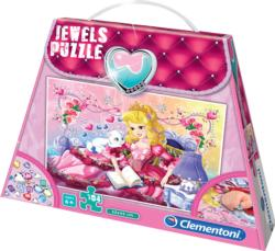 Jewels Puzzle - Sweet Princess Hearts Children's Puzzles