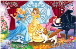 Jewels Puzzle - Princess: Play and Dance Music Children's Puzzles