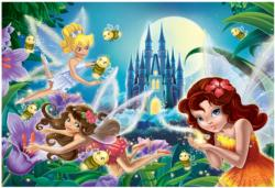 Fairies Bright in the Night Fantasy Jigsaw Puzzle