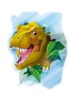 T-Rex - Window Puzzle Dinosaurs Children's Puzzles