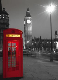 London Phone Box London Jigsaw Puzzle