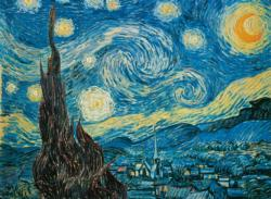 Starry Night Post Impressionism Jigsaw Puzzle