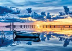 Oresund Sunrise / Sunset Jigsaw Puzzle