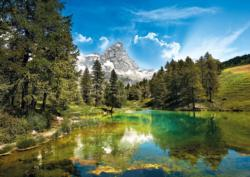 Blue Lake Lakes / Rivers / Streams Jigsaw Puzzle