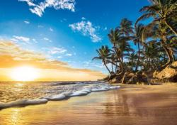 Tropical Sunrise Sunrise / Sunset Jigsaw Puzzle