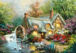 Country Retreat Lakes / Rivers / Streams Jigsaw Puzzle