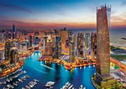 Dubai Marina Skyline / Cityscape Jigsaw Puzzle