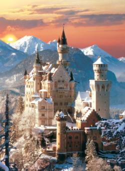 Neuschwanstein (winter) Germany Jigsaw Puzzle