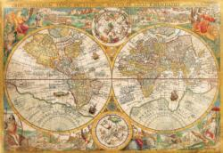 Ancient Map Maps / Geography Jigsaw Puzzle