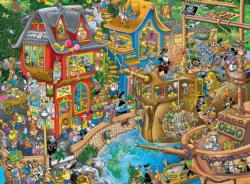 Pontcheffs Harbor (Tea Time) Cartoons Jigsaw Puzzle