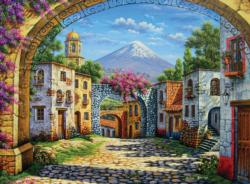 The Volcano Mountains Jigsaw Puzzle