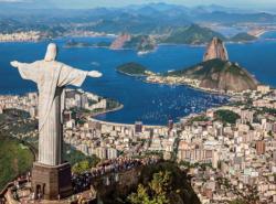 Rio de Janeiro Seascape / Coastal Living Jigsaw Puzzle