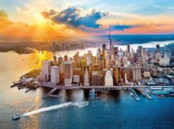 New York Sunrise / Sunset Jigsaw Puzzle