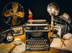 The Typewriter Photography Jigsaw Puzzle
