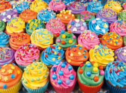 Colorful Cupcakes Sweets Jigsaw Puzzle