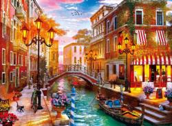 Sunset over Venice Sunrise / Sunset Jigsaw Puzzle