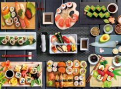 Sushi Food and Drink Jigsaw Puzzle