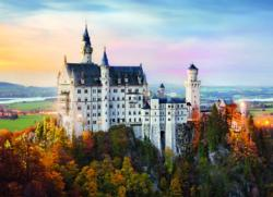 Neuschwanstein Castle Sunrise/Sunset Jigsaw Puzzle