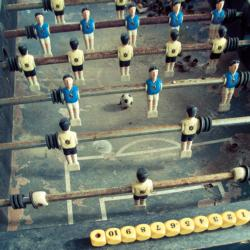 Frame Me Up: Foosball Sports Jigsaw Puzzle