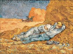 The Siesta Impressionism Jigsaw Puzzle