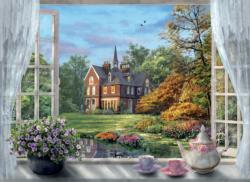 A Cup of Tea? (Tea Time) Churches Jigsaw Puzzle