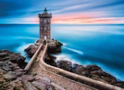 The Lighthouse - Scratch and Dent Sunrise/Sunset Jigsaw Puzzle