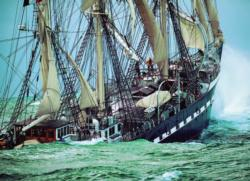 Belem, The Last French Tall Ship Boats Jigsaw Puzzle