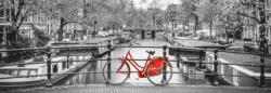 Amsterdam Bicycle Amsterdam Panoramic Puzzle