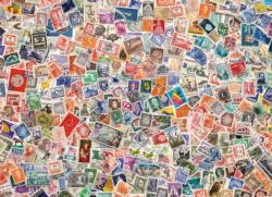 Stamps Collage Jigsaw Puzzle