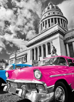 Platinum Collection: Cuba Vehicles Jigsaw Puzzle