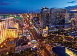 Virtual Reality Puzzle: Las Vegas Las Vegas Jigsaw Puzzle