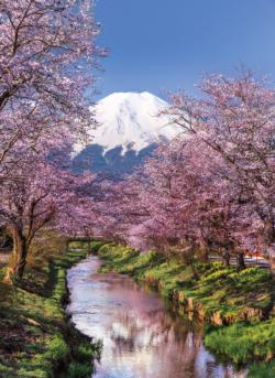 Fuji Mountain Japan Jigsaw Puzzle
