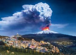 Etna Landscape Jigsaw Puzzle