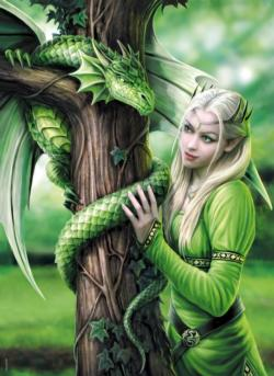 Kindred Spirits Dragons Jigsaw Puzzle
