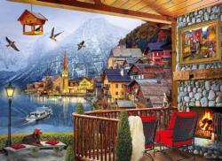 Hallstatt Cottage / Cabin Jigsaw Puzzle