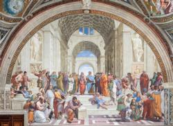 "Raphael ""The School of Athens"" Renaissance Jigsaw Puzzle"