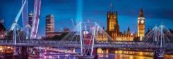 London London Panoramic Puzzle