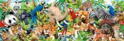 Wildlife Wildlife Panoramic Puzzle