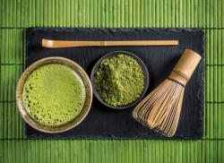 Matcha Tea Food and Drink Jigsaw Puzzle