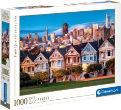 Painted Ladies San Francisco Jigsaw Puzzle