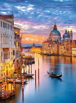 Lighting Venice Sunrise / Sunset Jigsaw Puzzle