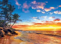 Paradise Beach Sunrise / Sunset Jigsaw Puzzle