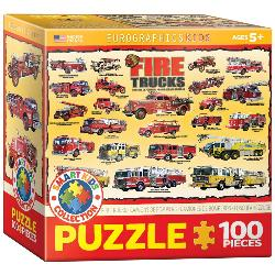Fire Trucks Vehicles Jigsaw Puzzle