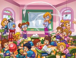 Teachers Cartoons Jigsaw Puzzle